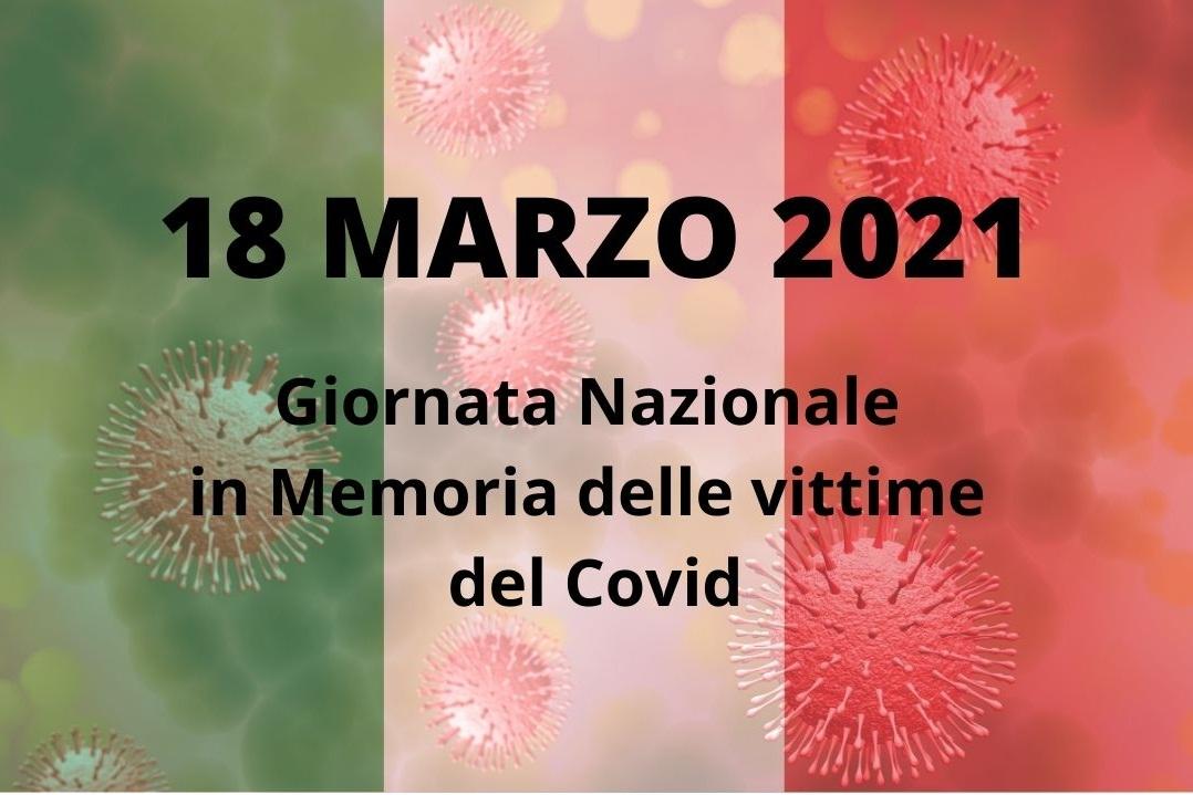 18 MARZO GIORNATA NAZIONALE VITTIME DEL COVID-19
